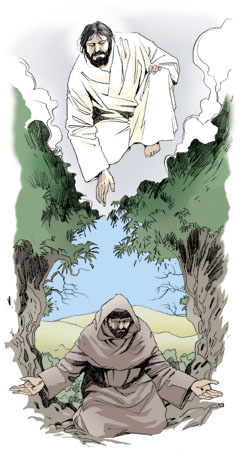 Francis of Assisi inspired by the Gospel